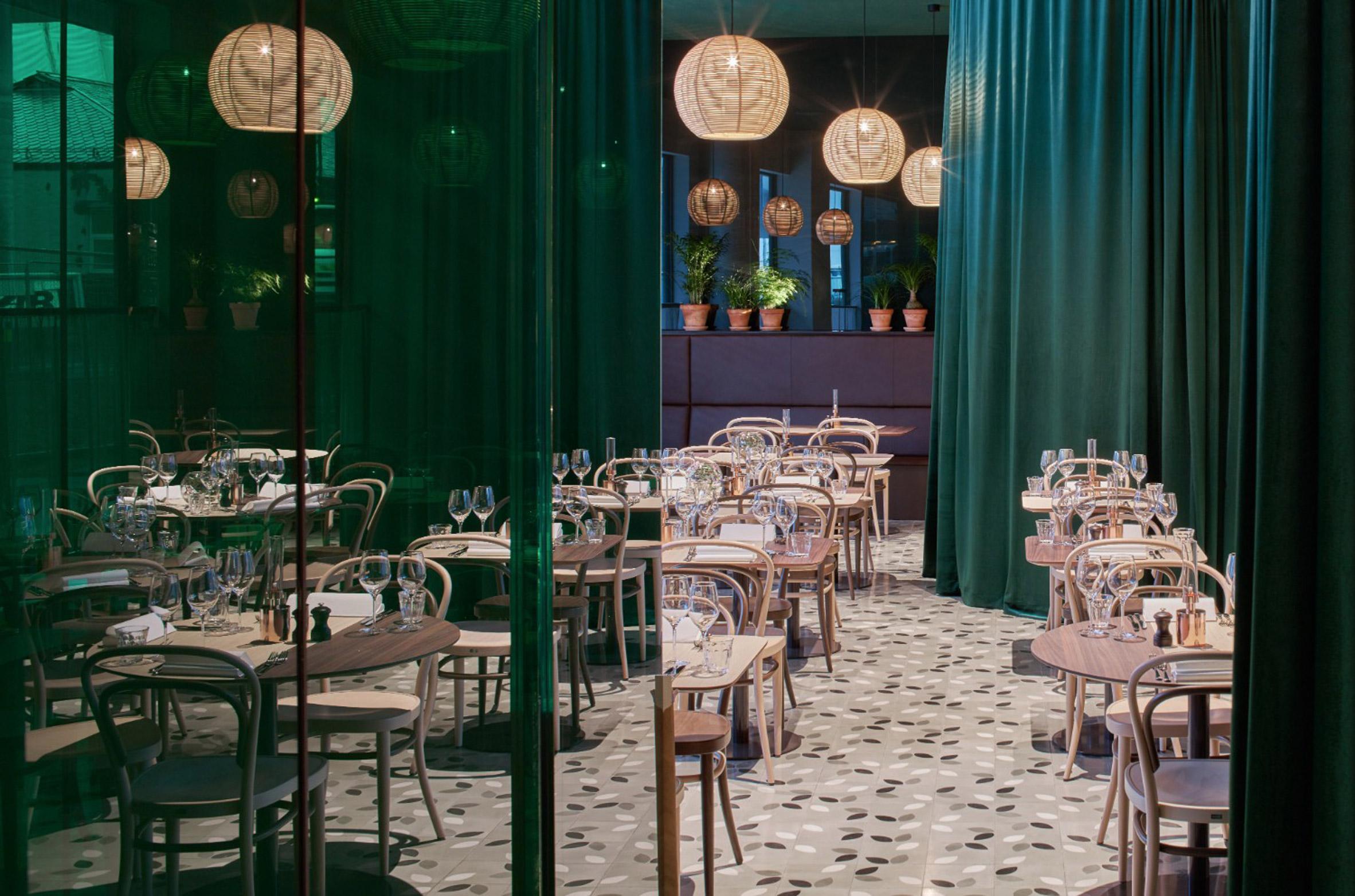Claesson Koivisto Rune designs rain-themed interiors for Bergen's Zander K hotel