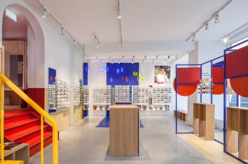 Spacon X Design Ace Tates New Copenhagen Eye Wear Store To Evoke An