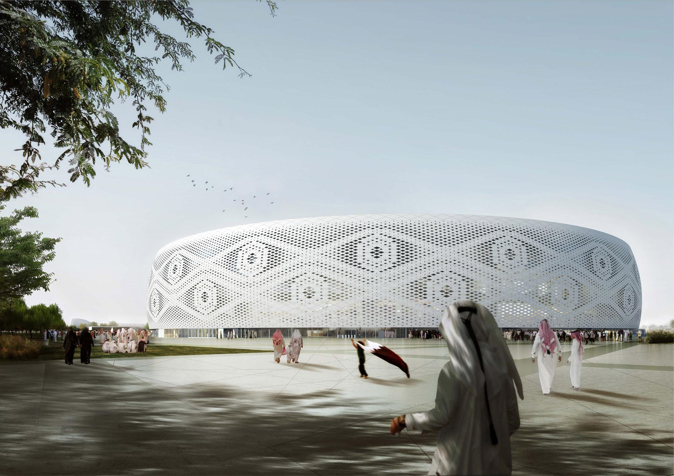 Al Thumama Stadium by Ibrahim M Jaidah