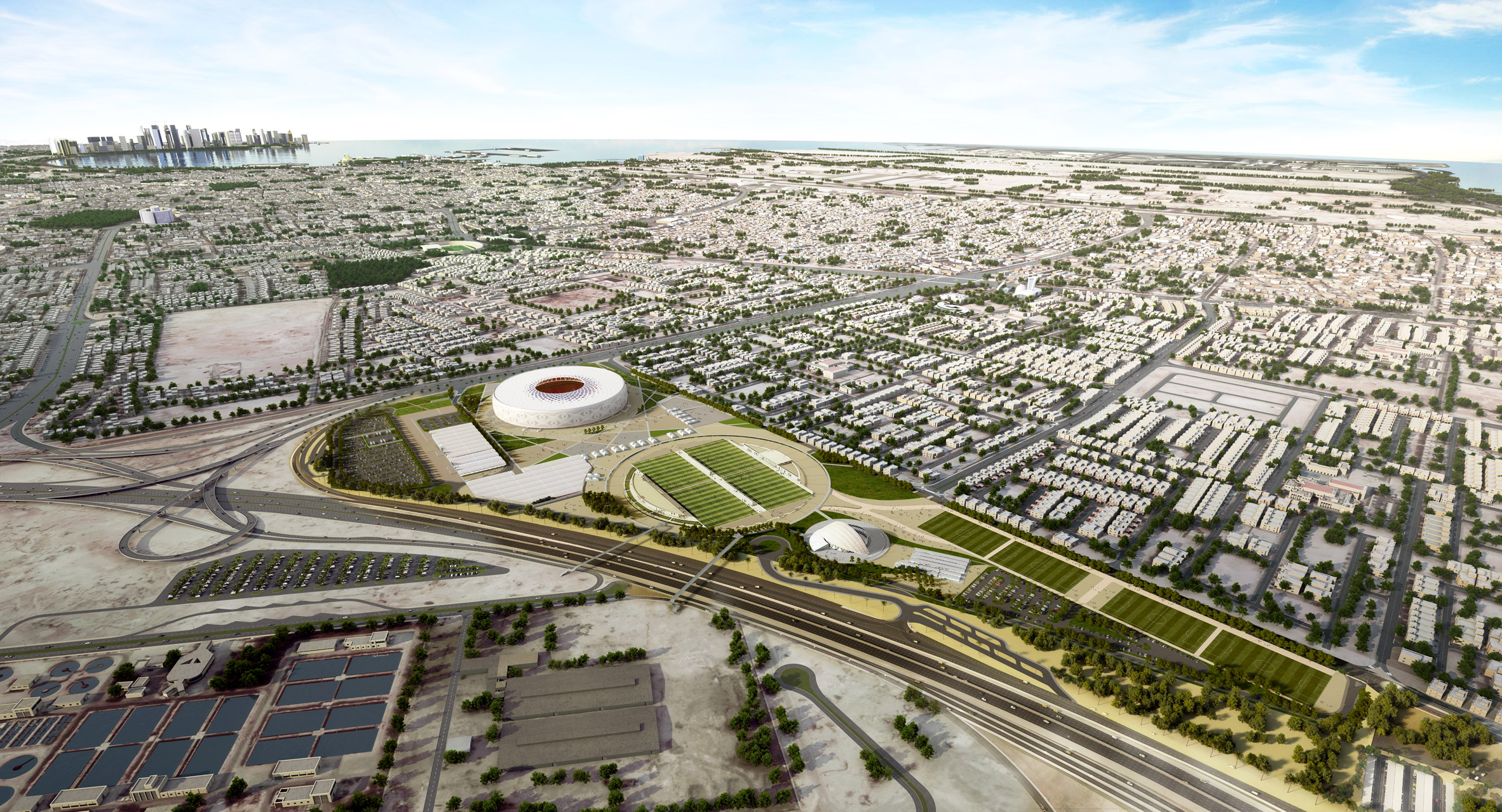 Ibrahim Jaidah unveils cap-inspired stadium for Qatar 2022 FIFA World Cup