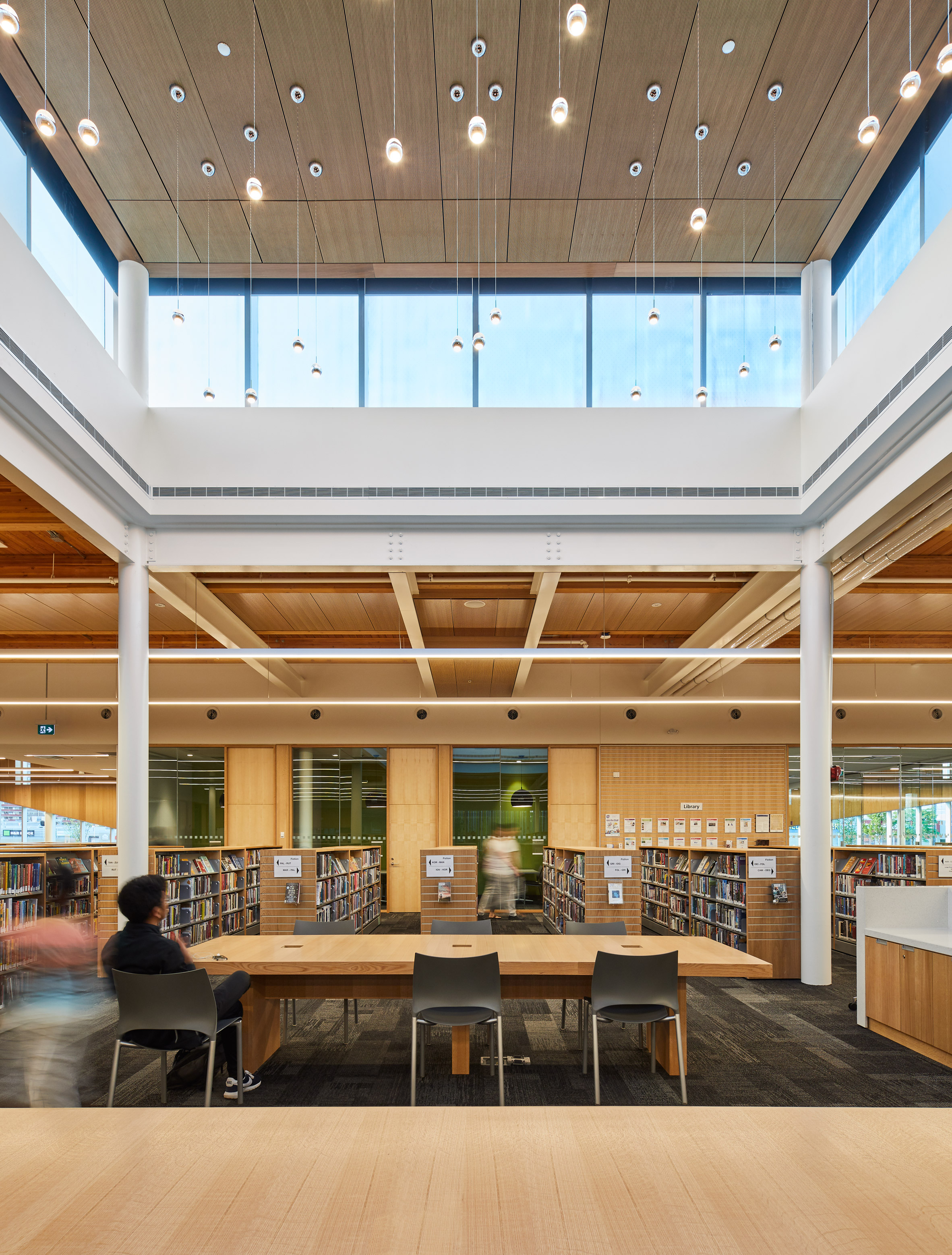 Albion Library by Perkins+Will