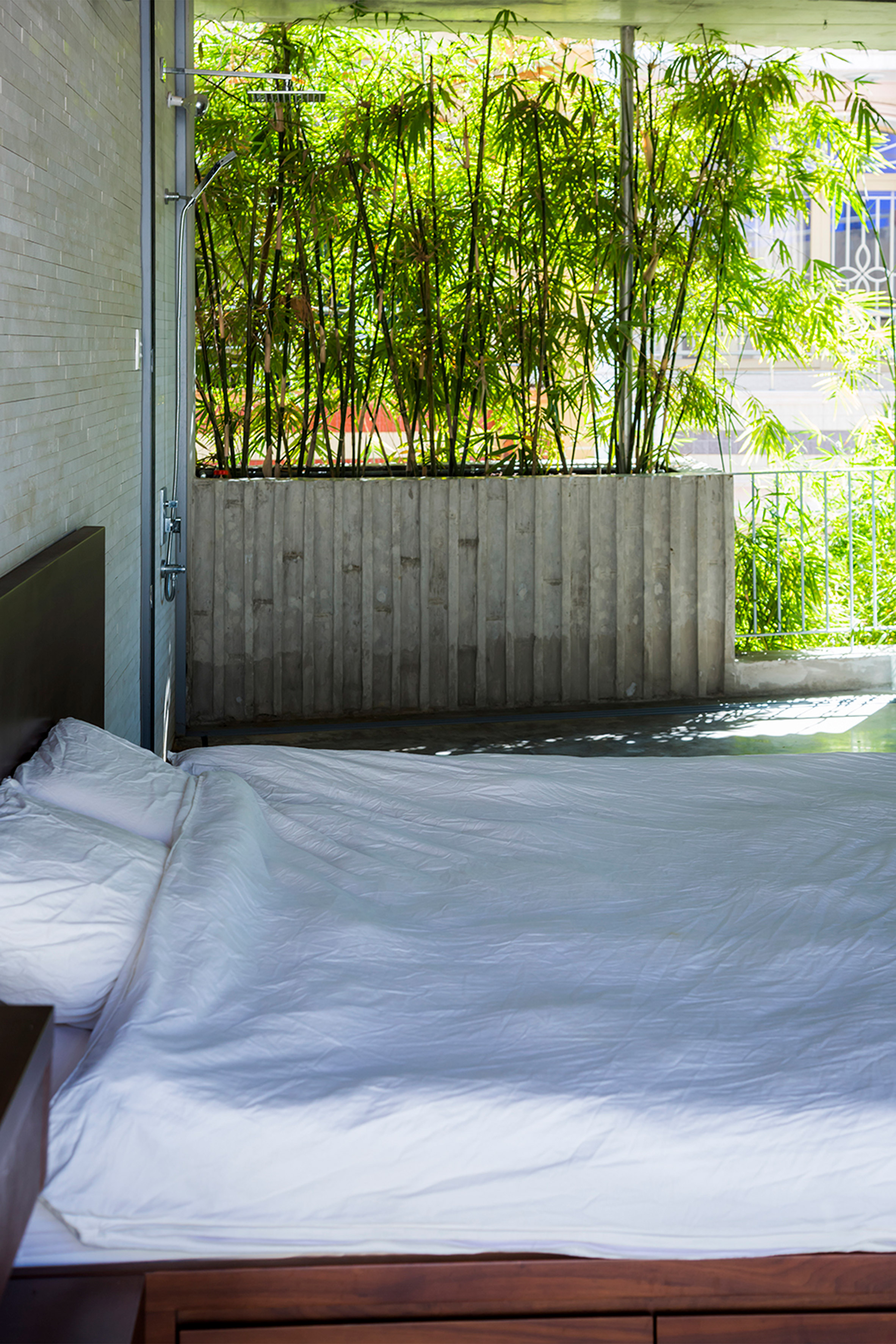 Bamboo House by Vo Trong Nghia