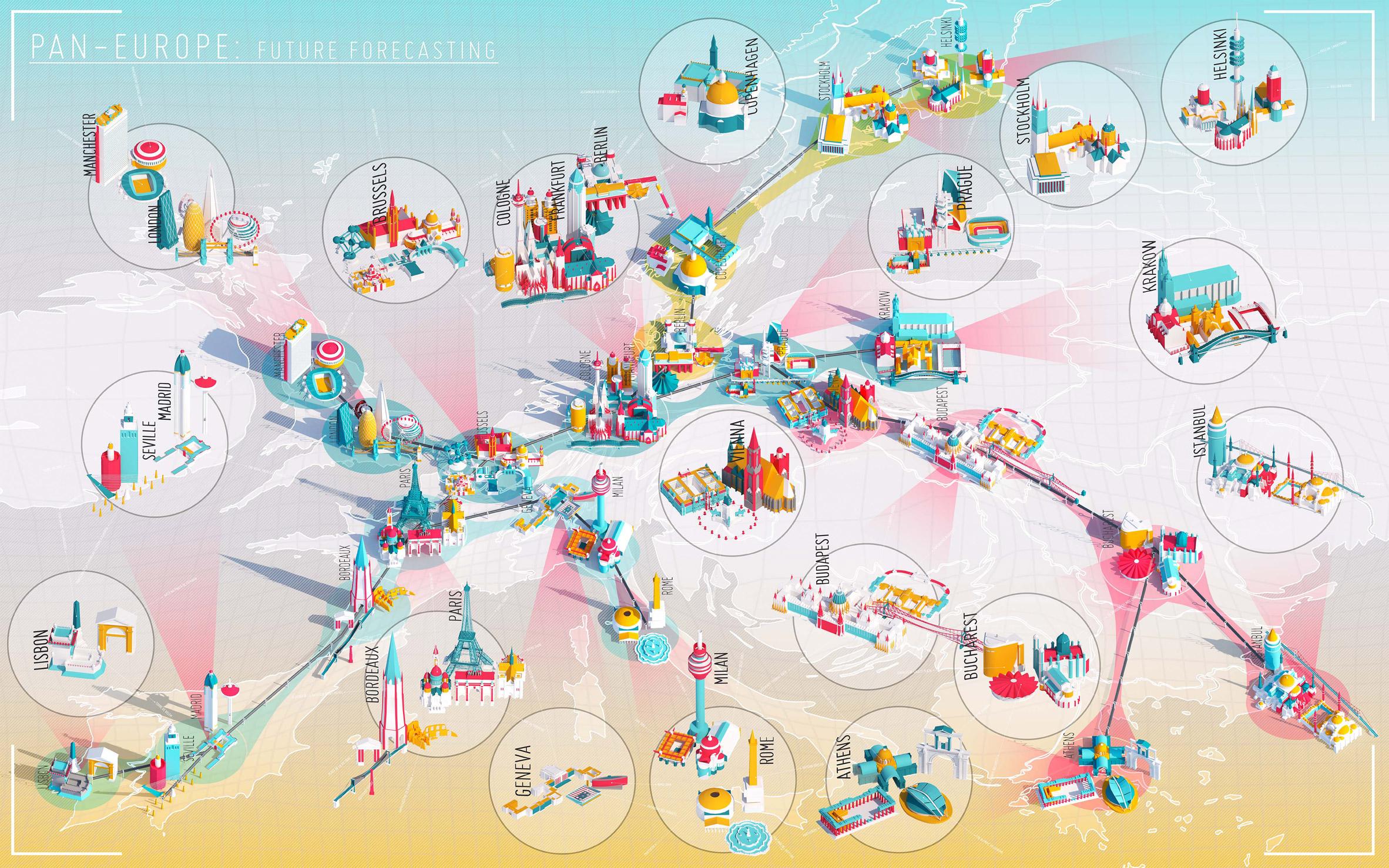 "Bartlett student Cassidy Reid devises a Hyperloop network to ""make Europe great again"""