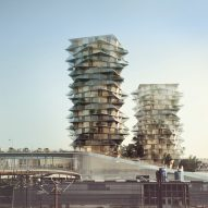 BIG unveils plans for Cactus Towers beside new Copenhagen IKEA