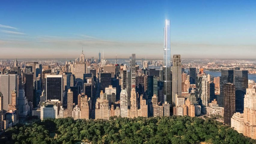 central park tower to become world s tallest residential skyscraper