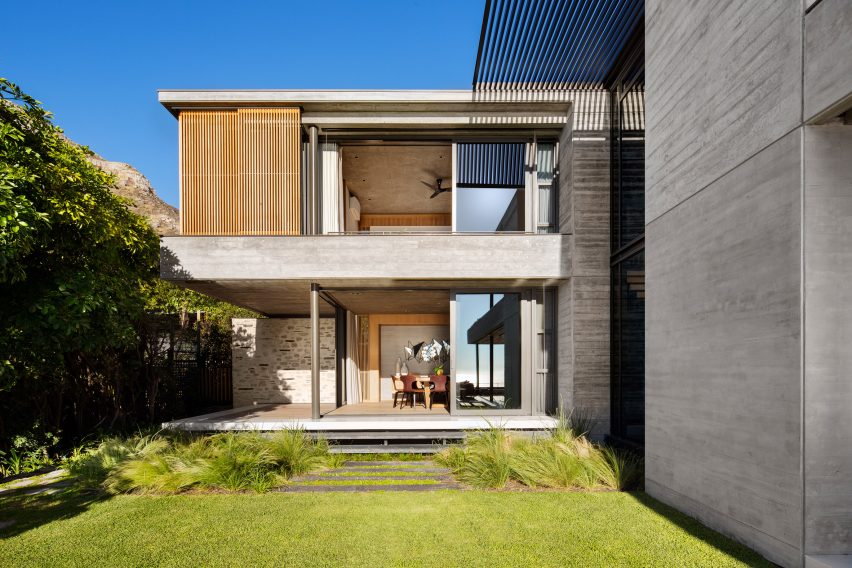Local architecture firm Malan Vorster designs seaside Clifton House in Cape Town