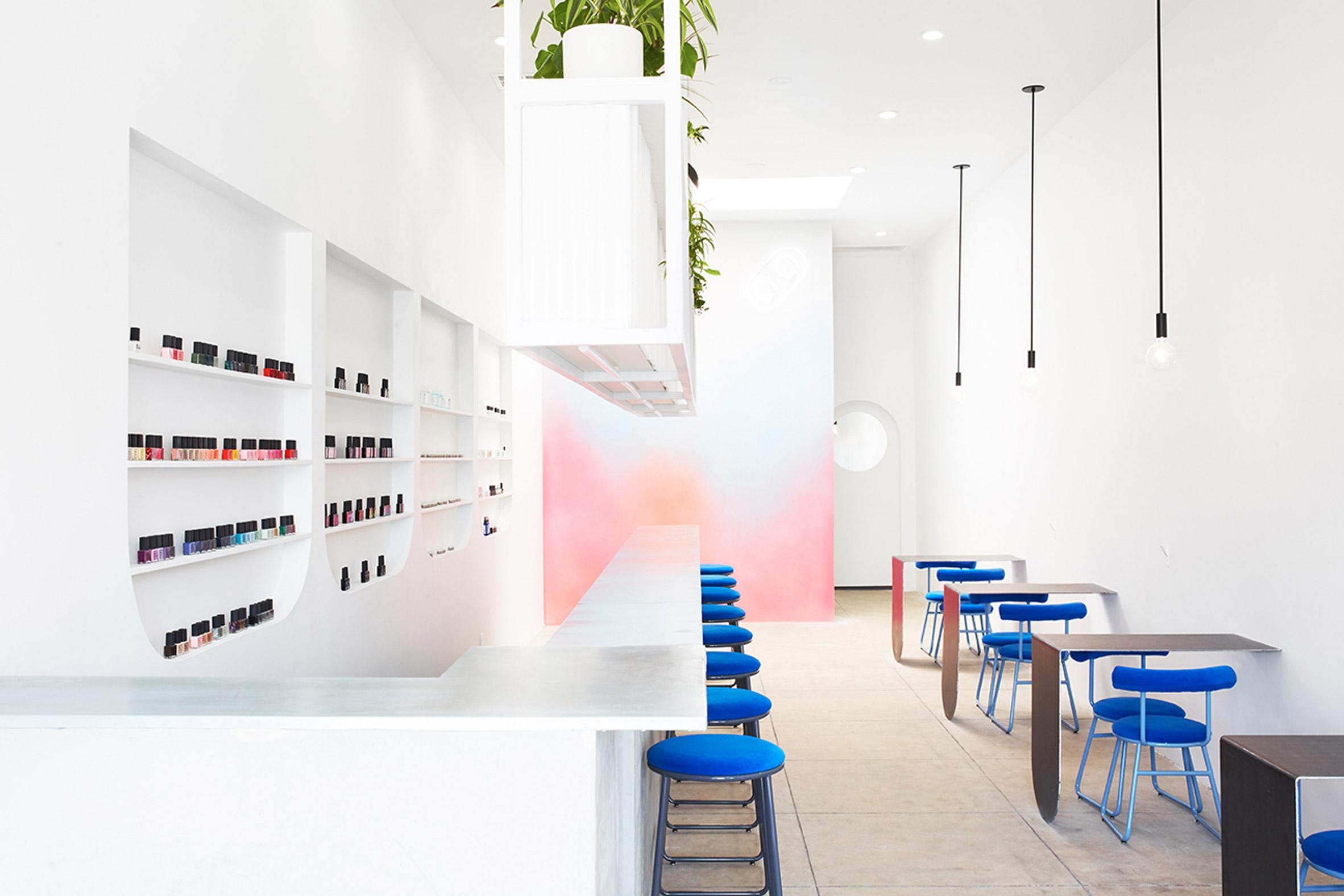 3novices J Byron H Designs Minimalist Nail Bar In Los