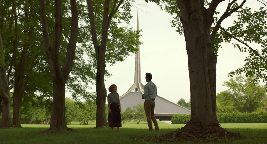 Stills from Columbus movie by Kogonada