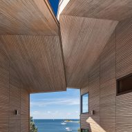 Leroy Street Studio updates traditional New England architecture for harbour-side Cove House