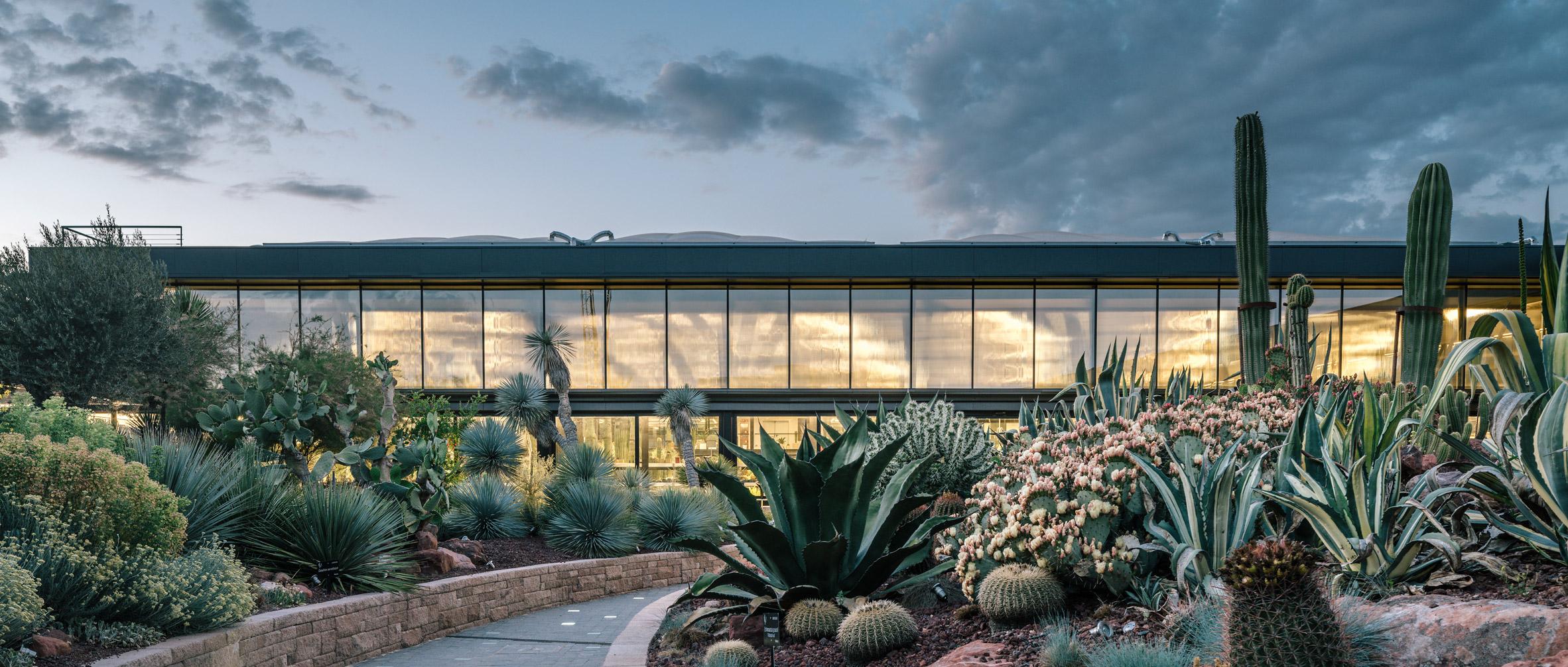 Garciagerman Arquitectos' Desert City centre is dedicated to cactusaficionados