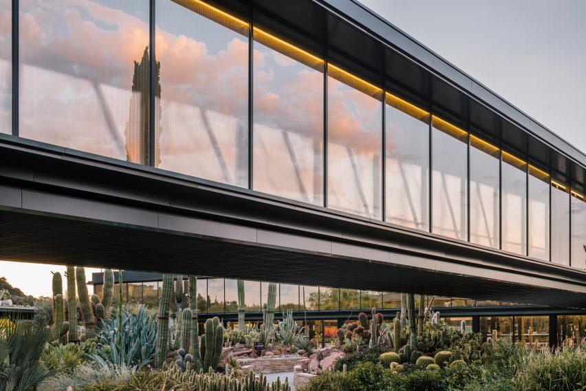 Garciagerman Arquitectos design cactus centre in Madrid