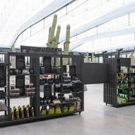 Garciagerman Arquitectos design cactus centre in Madrid