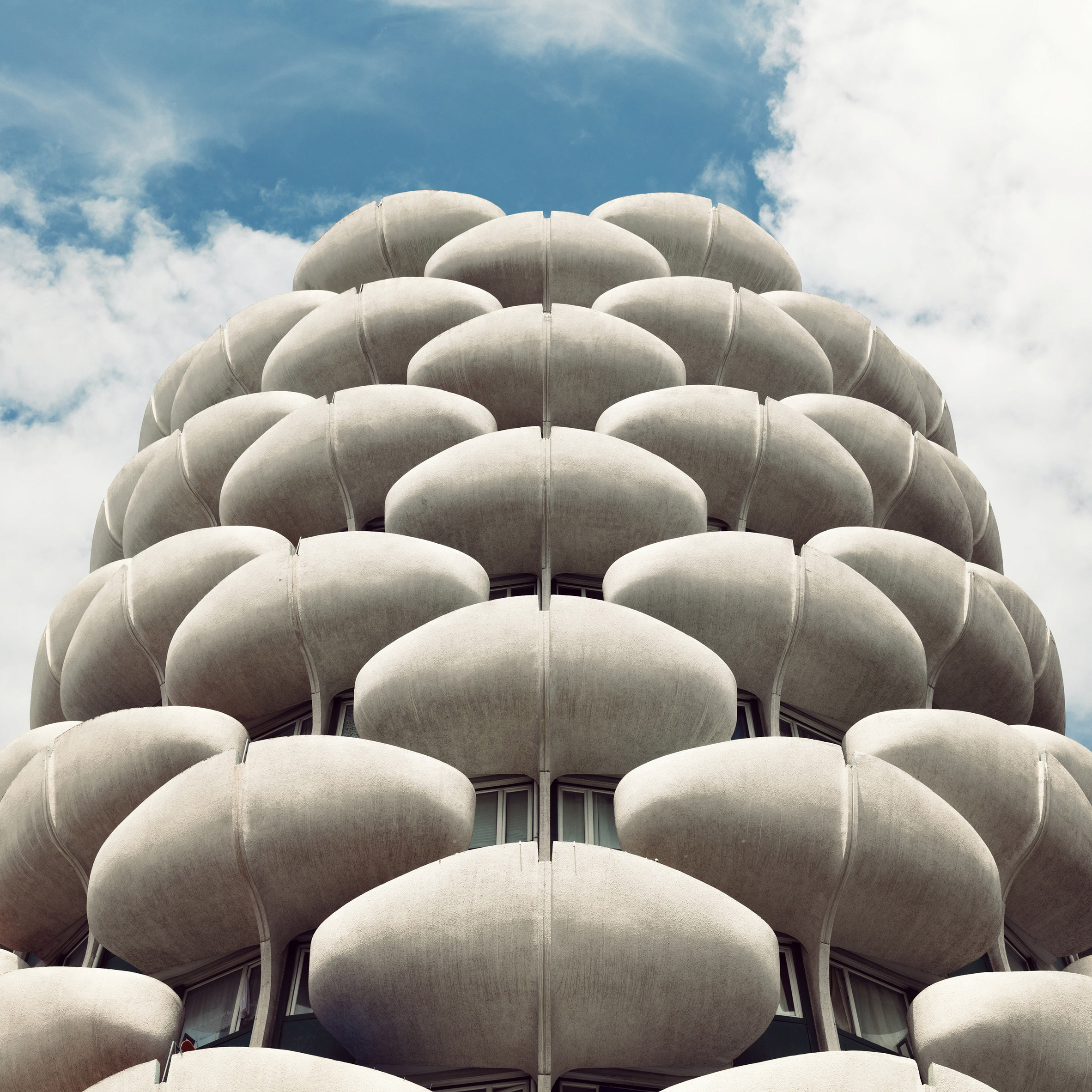 Paris' most eye-catching buildings take centre stage in Sebastian Weiss' latest photo series