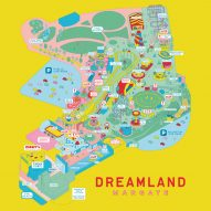 "Studio Moross designs ""slightly weird"" posters for relaunched Dreamland theme park"