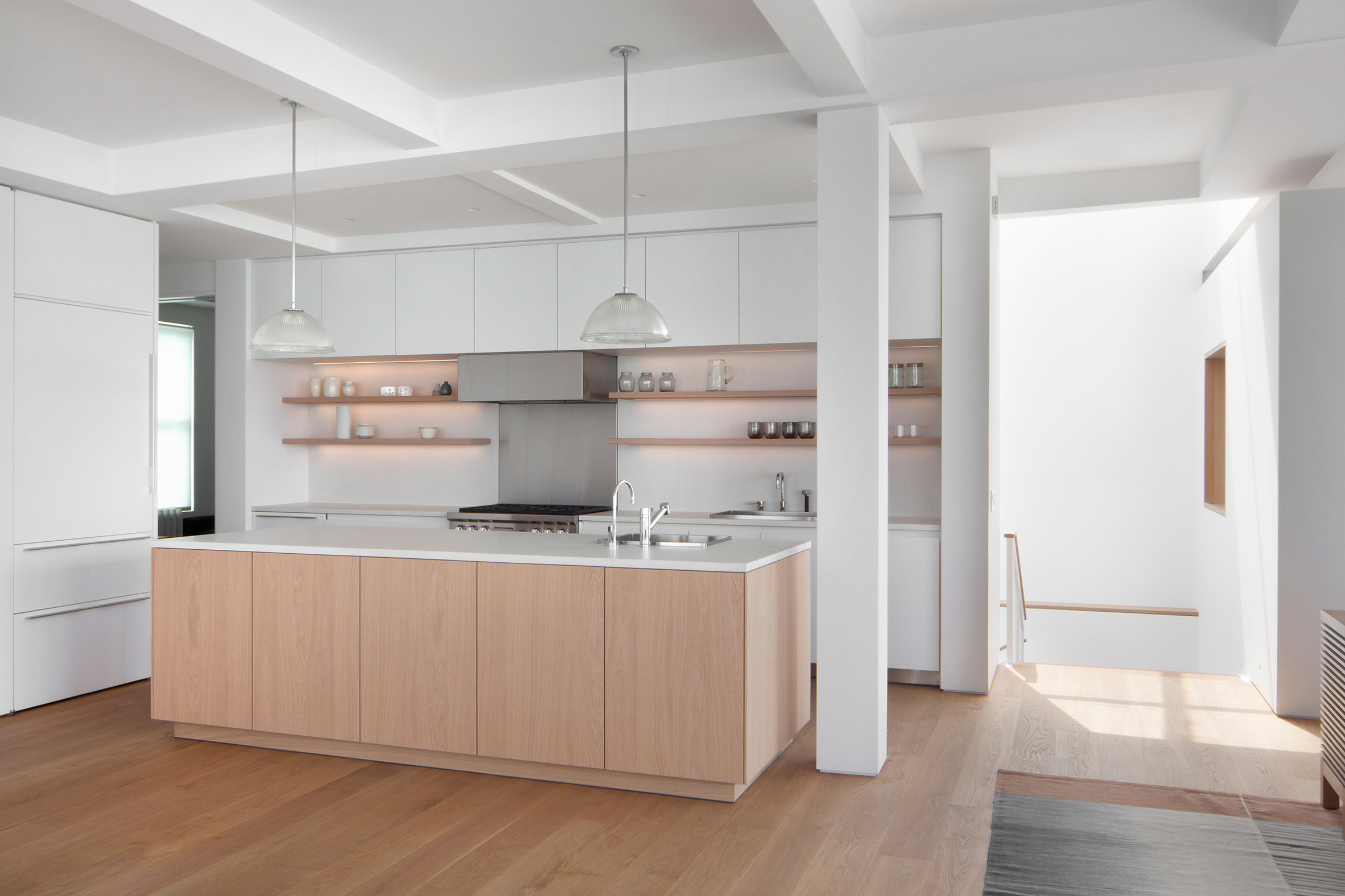 Duplex in Tribeca by Space4Architecture