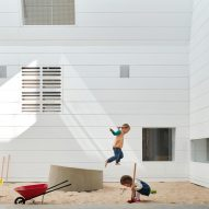 "Andrew Burges Architects transforms Sydney warehouse into ""mini city"" for kids"