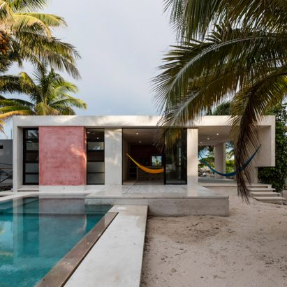 Modest Holiday Retreat By David Cervera Nestles Among The Palms In Mexico