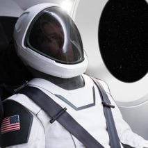 Elon Musk reveals first SpaceX suit