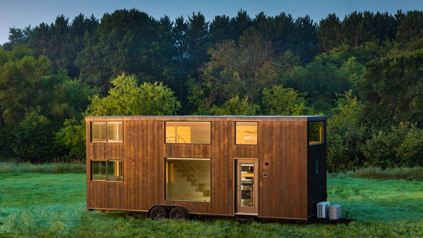 Elegant Escape One XL Is A Two Storey Micro Home On Wheels