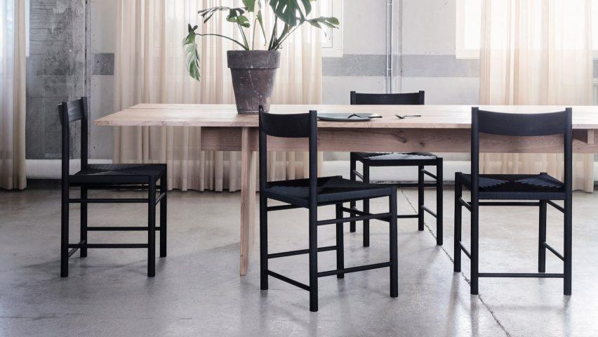 F Chair by Brdr. Krüger x Rasmus Bækkel Fex