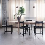 "Rasmus Bækkel Fex borrows ""honesty and quality"" of Shaker design for F chair"