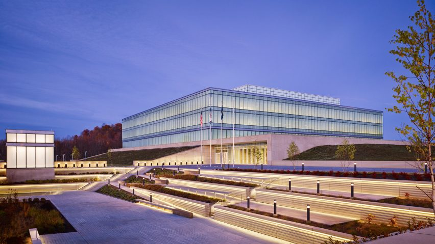 FBI Biometric Technology Center by SOM