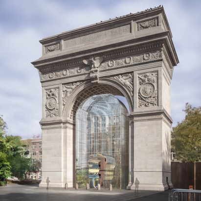 Ai Weiwei Launches Kickstarter To Build Security Fence Installations In New  York