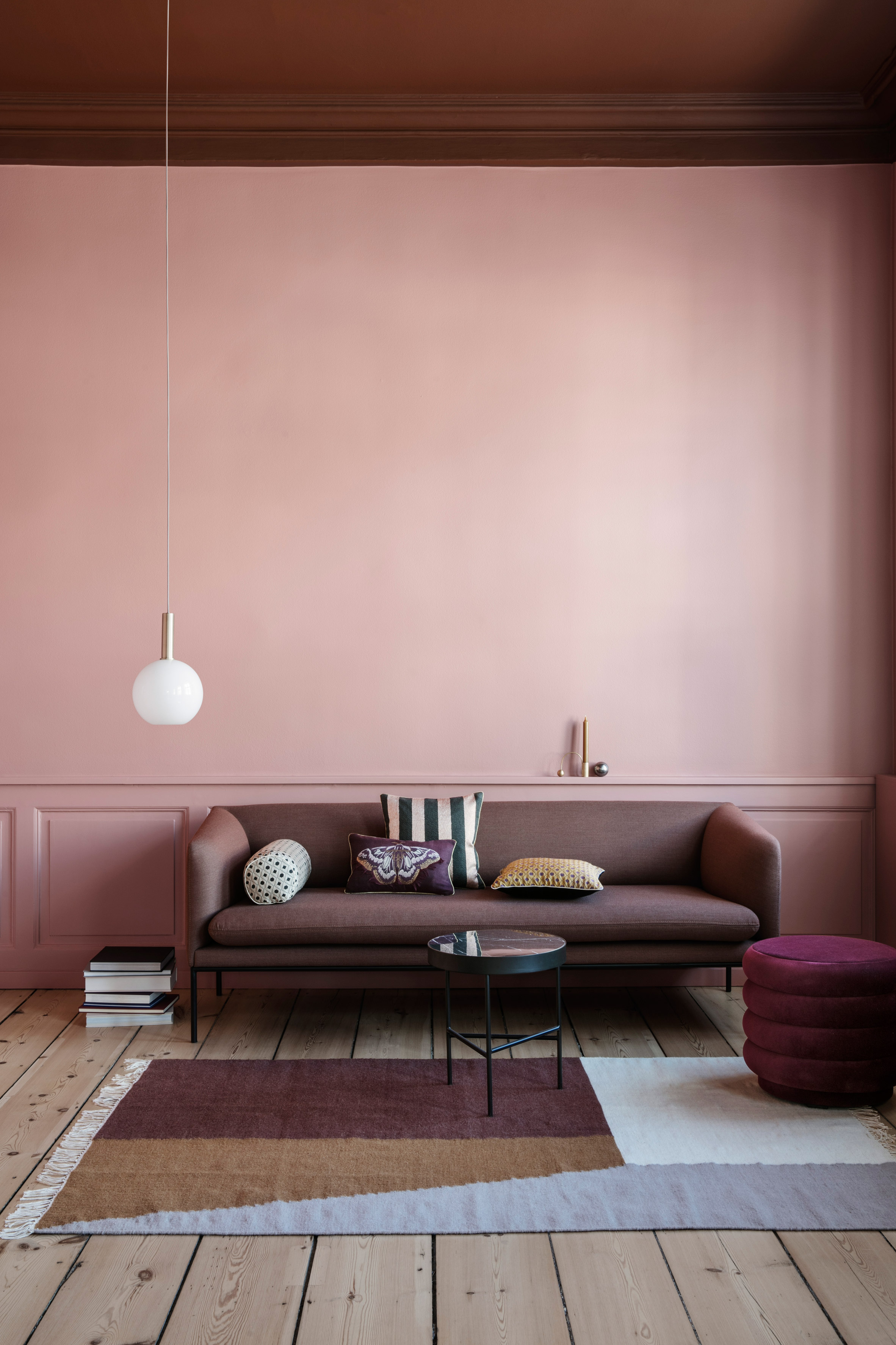 """Ferm Living's autumn winter 2017 collection channels """"Nordic decadence"""""""