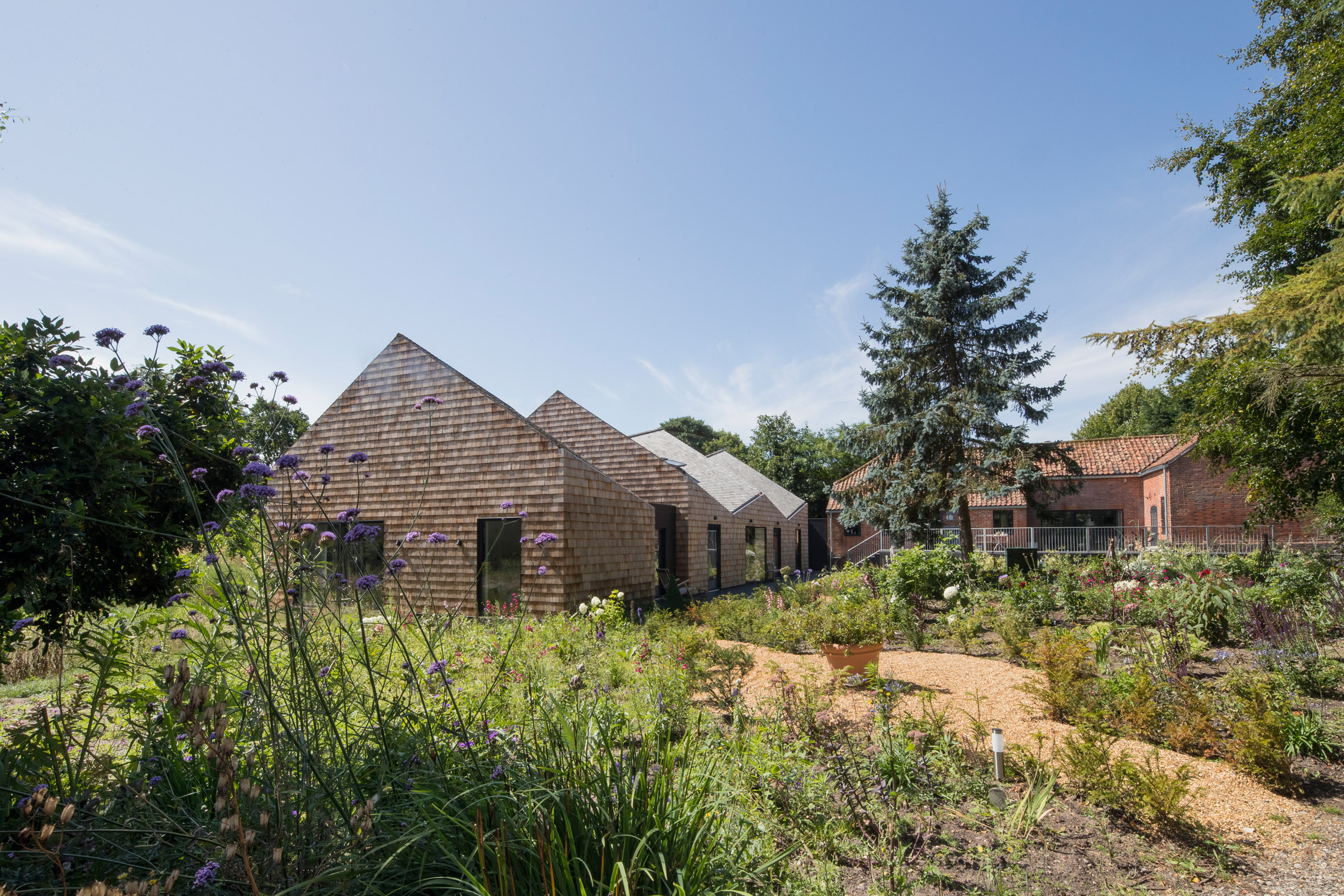 Old Suffolk barn transformed into countryside bed and breakfast by Blee Halligan Architects