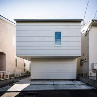 Gap House is a Japanese home that makes the most of every inch