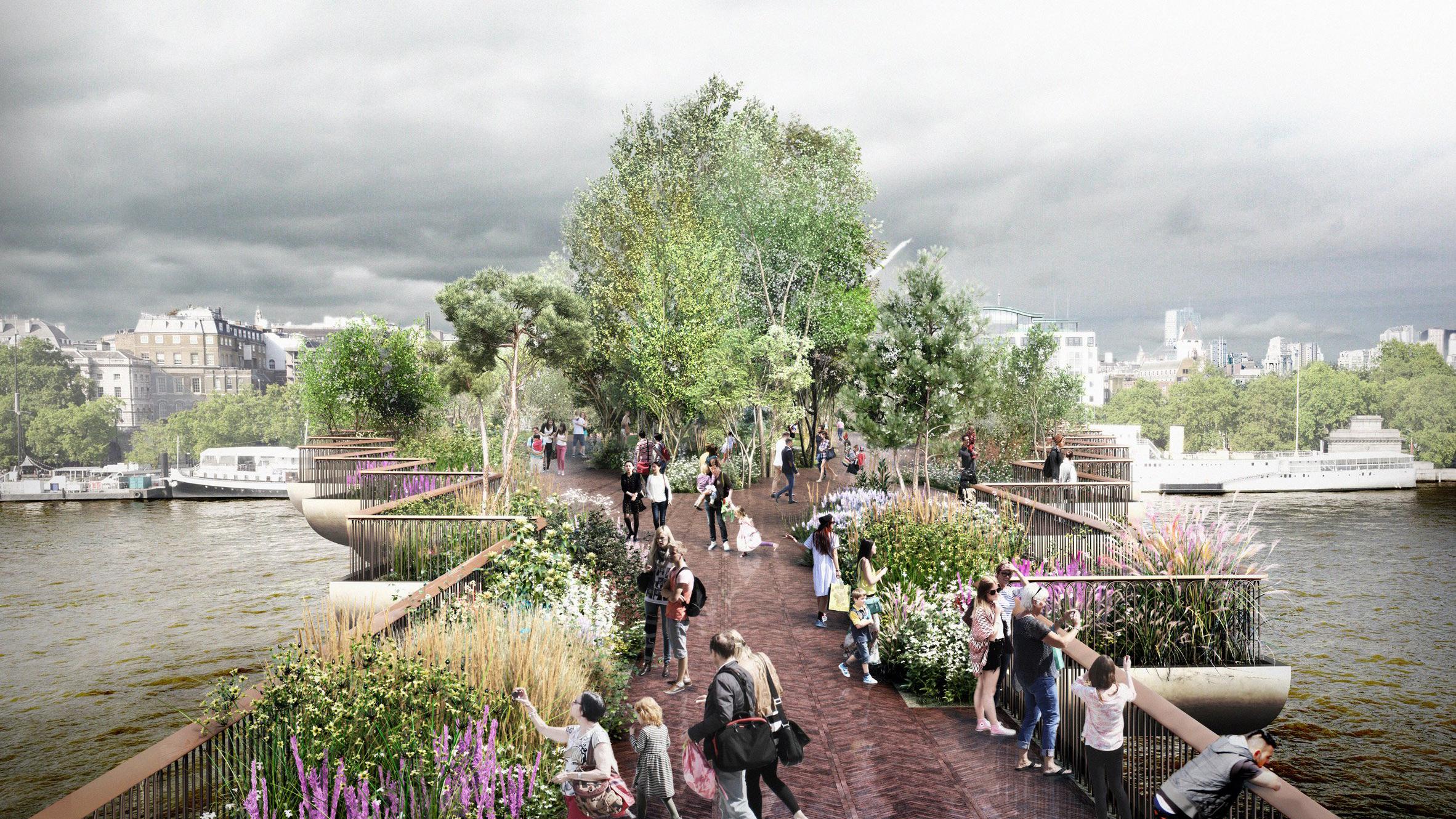 Apple store was proposed for Garden Bridge in return for sponsorship