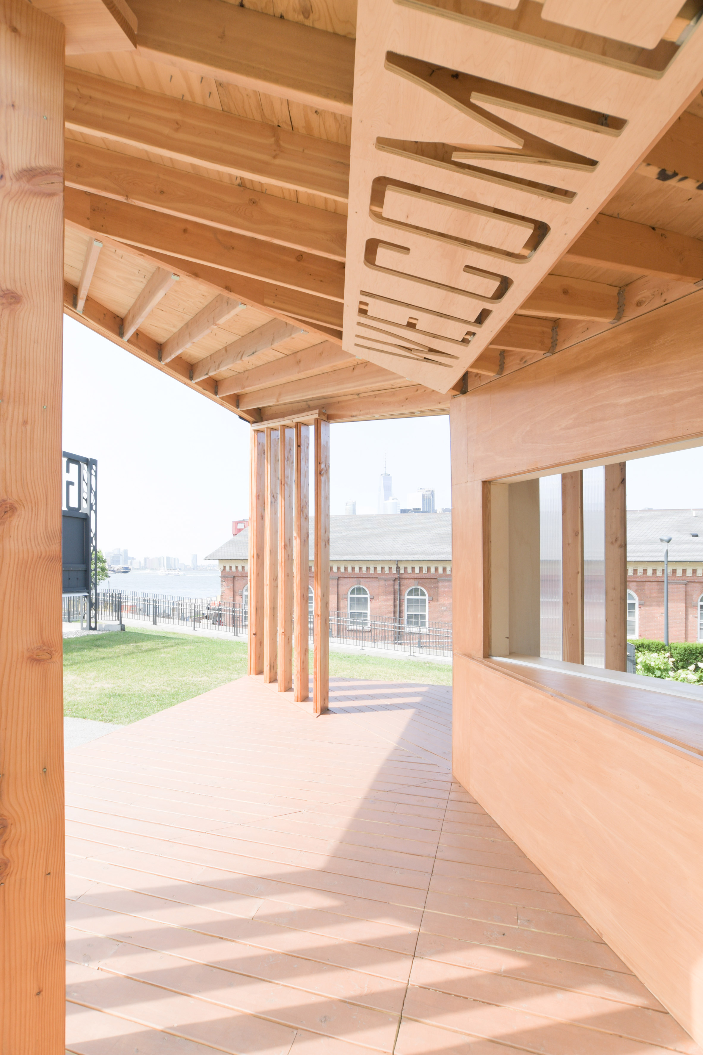 Governors Island Welcome Center by Office III