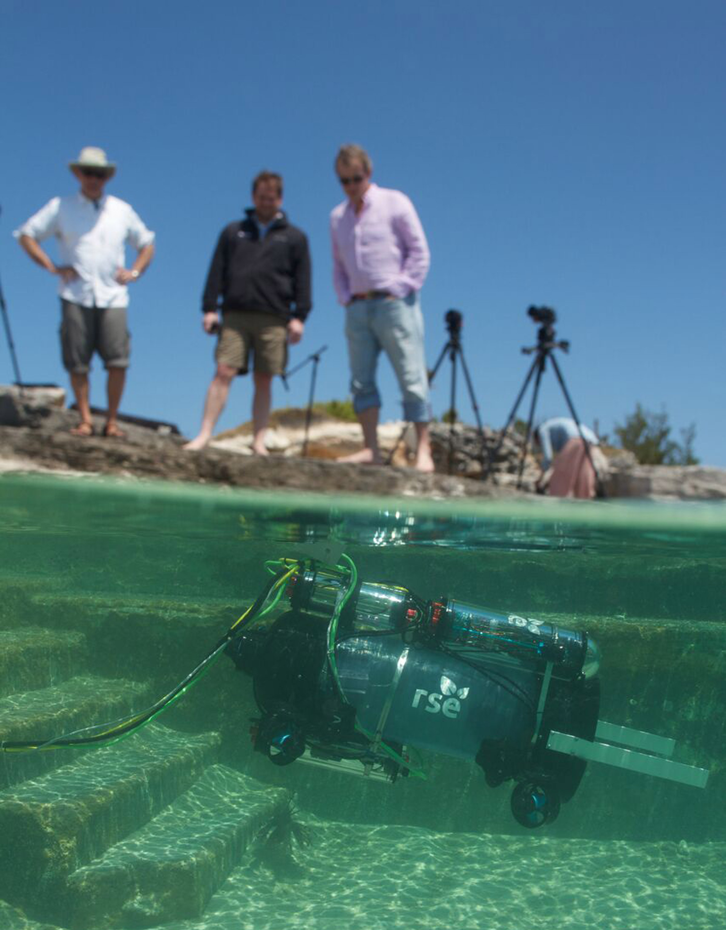Invasive lionfish humanely stunned and caught by RSE Guardian LF1 robot