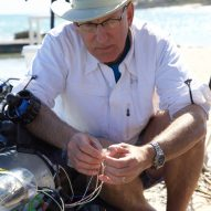RSE Guardian LF1 robot humanely catches invasive lionfishv