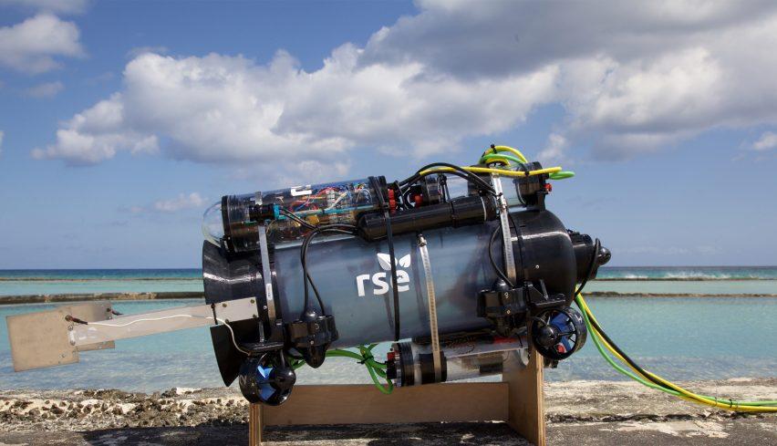 RSE Guardian LF1 robot humanely catches invasive lionfish
