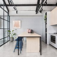 Biasol converts art-deco warehouse in Melbourne into space for its studio