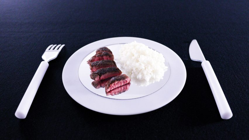 Saki Maruyama and Daniel Coppe design mirrored tableware to lessen food consumption