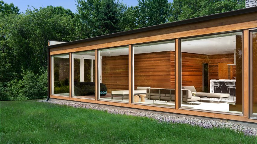 Jeff Jordan Architects Updates Mid Century Home With Floor To Ceiling  Windows