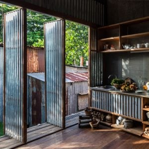 Nishizawa Architects Adds Movable Walls To Multi Family Home