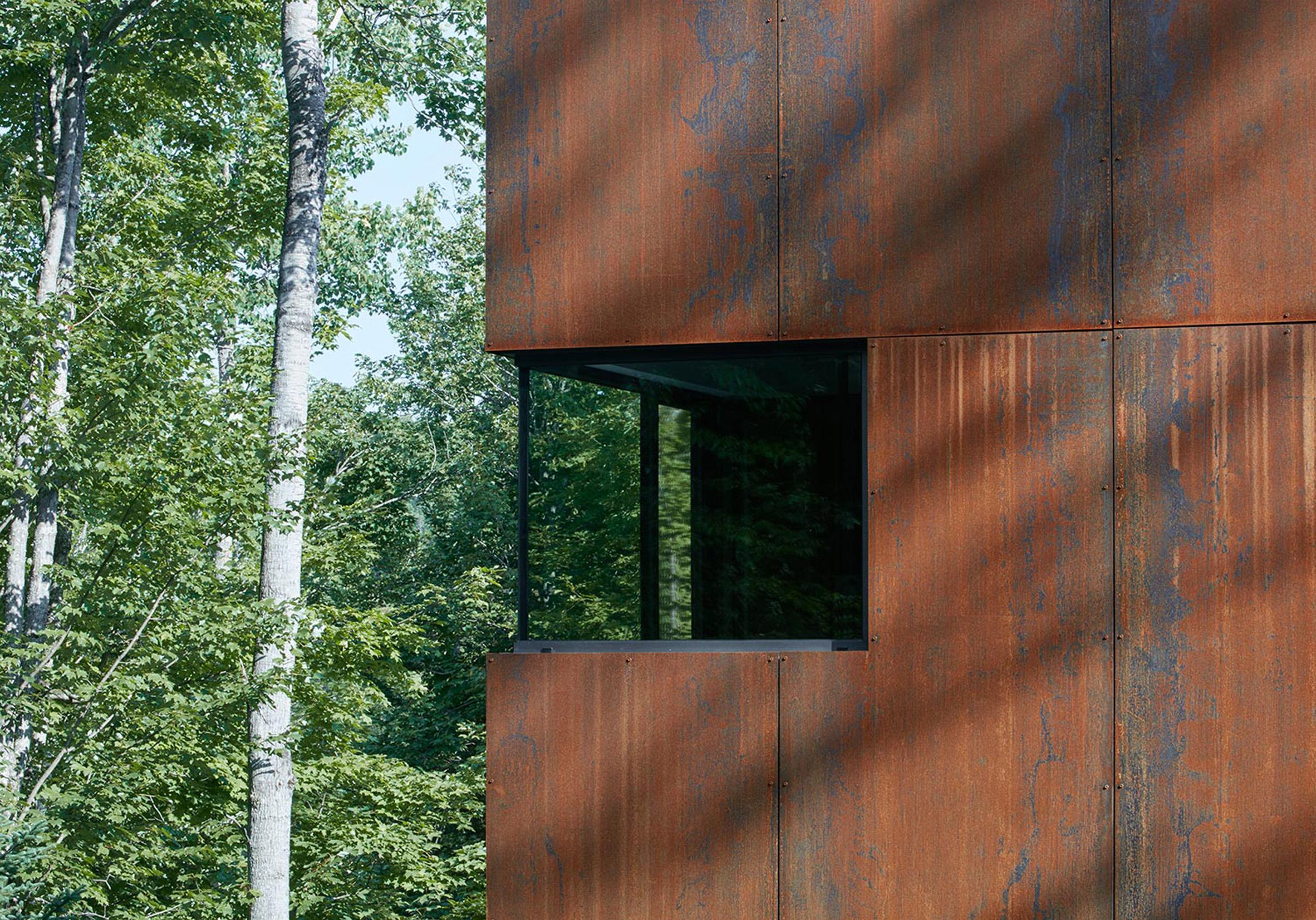 House on Lac Charlebois by Paul Bernier