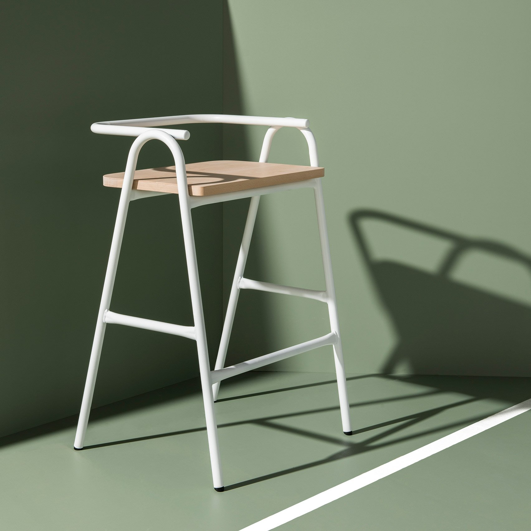 chair design  dezeen - dowel jones stretches and tweaks hurdle chair into whole seating collection