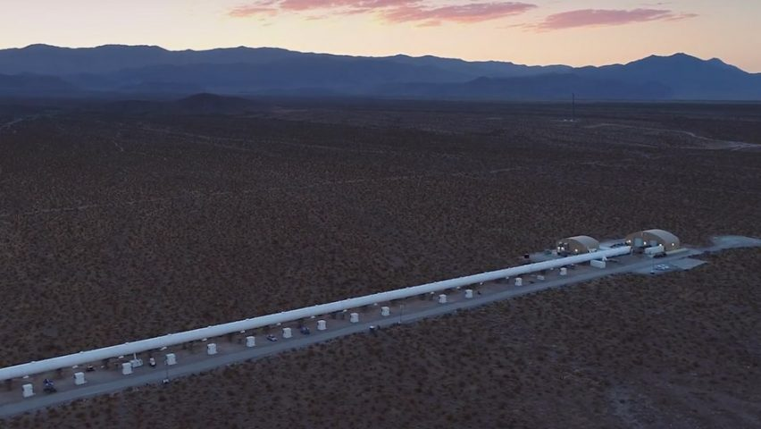 Hyperloop One S First Full System Test Reaches 190 Mph In Five Seconds