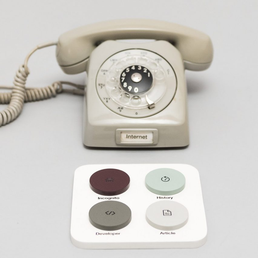 The Internet Phone by Copenhagen Institute of Interaction Design
