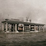"Jiaji Shen proposes turning abandoned coal pier into workshop for ""mudlarking"" jewellery maker"