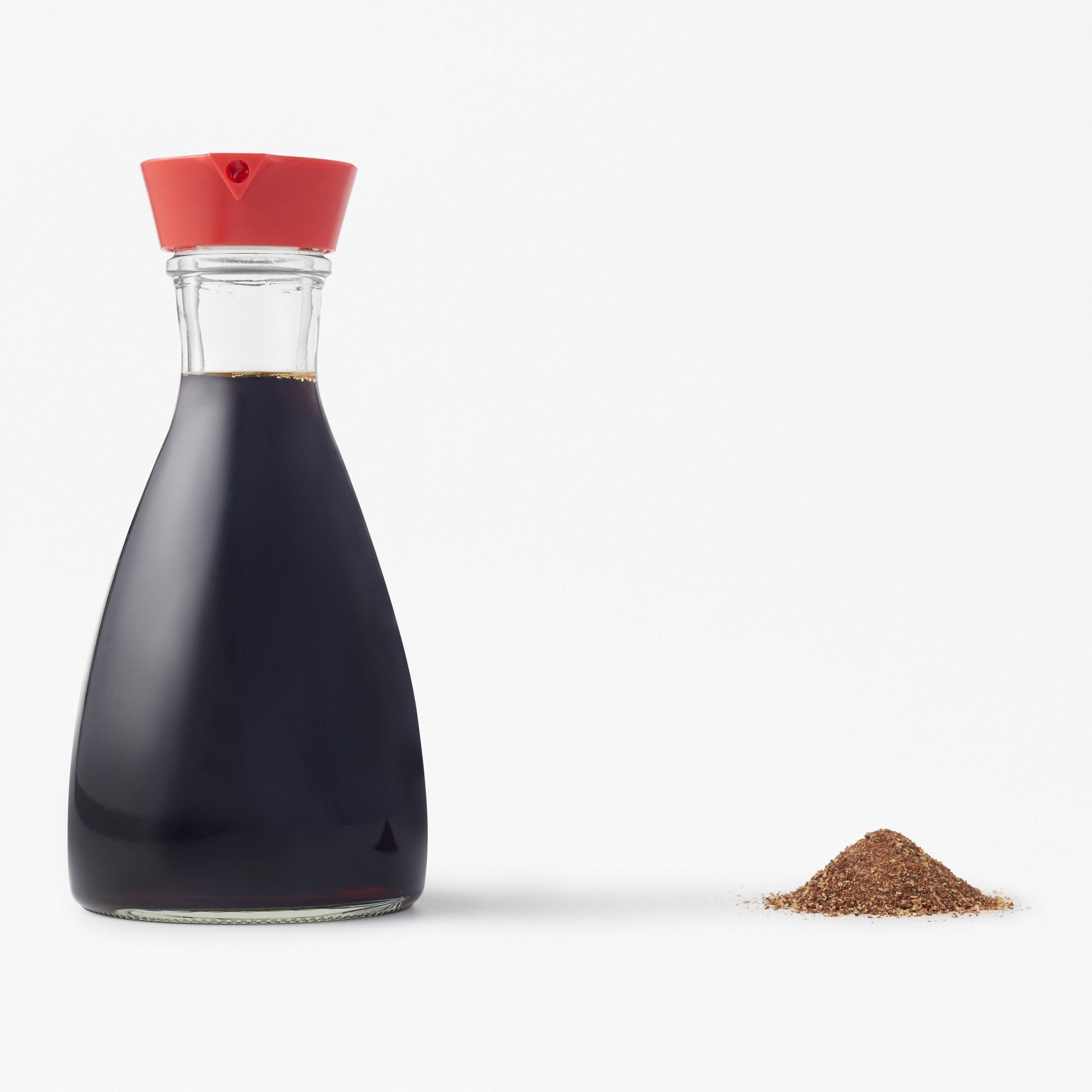 Nendo designs soy seasoning dispenser to rival iconic Kikkoman bottle