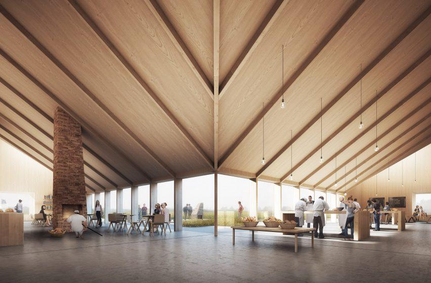 Kornets Hus by Reiulf Ramstad Architects, Denmark