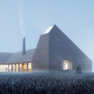 Reiulf Ramstad's kiln-inspired learning centre will celebrate Denmark's farming culture