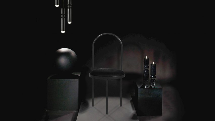 & Lee Broom reflects on his 10-year career with all-black collection