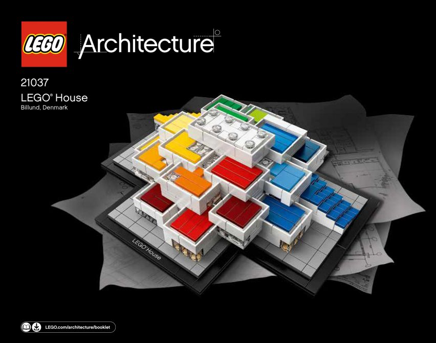 The kit is part of the Lego Architecture line, which also includes Frank  Lloyd Wright's Guggenheim Museum and a set of monochrome building bricks  designed ...
