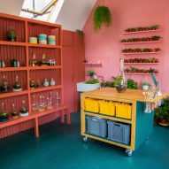 Instagram photo inspires brightly hued terrarium shop in London
